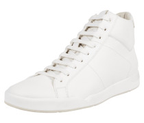 High Top Sneaker aus echtem Leder