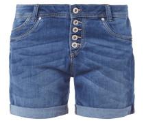 Stone Washed 5-Pocket-Shorts aus Denim