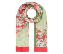 Schal mit floralem Muster