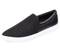 Slip-On Sneaker mit echtem Leder