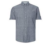 Regular Fit Freizeithemd mit Button-Down-Kragen