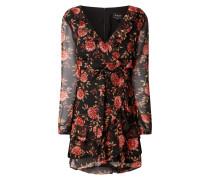 Kleid aus Chiffon im Double Layer Look