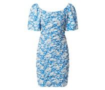 Off-Shoulder-Kleid mit floralem Muster Modell 'Mynte'