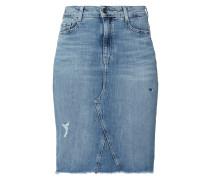 5-Pocket-Jeansrock mit Used-Effekten