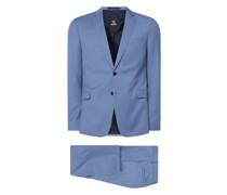 Slim Fit Anzug aus Schurwolle Modell 'Allen-Mercer'