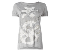 Shirt mit Motiv-Print und Message