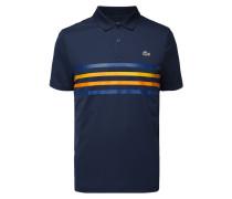Poloshirt mit Zierstreifen - schnelltrocknend