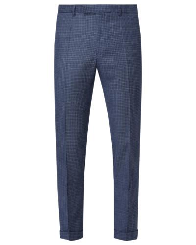 Slim Fit Anzughose aus Schurwolle