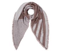 Schal mit spitz zulaufenden Enden