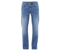 5-Pocket-Jeans im Stone Washed-Look