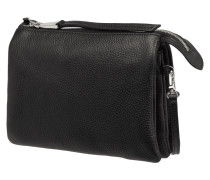 Crossbody Bag aus Leder mit drei Hauptfächern