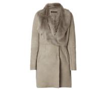 Mantel aus Lammshearling