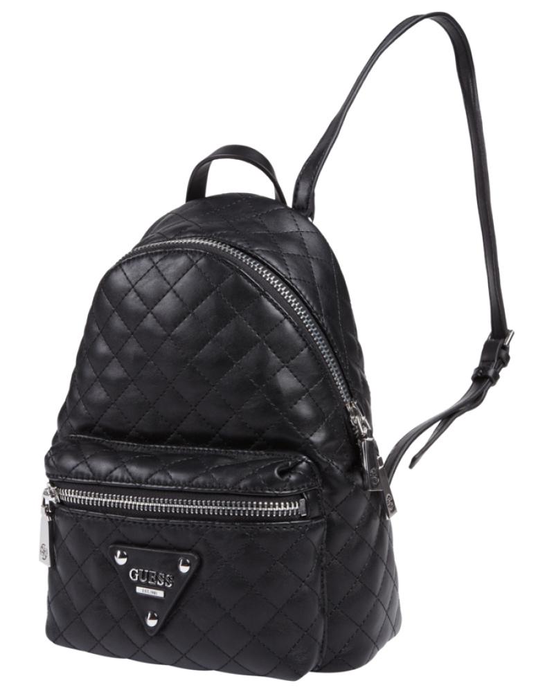 guess damen rucksack mit steppungen reduziert. Black Bedroom Furniture Sets. Home Design Ideas