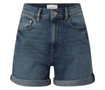 Jeansshorts aus Baumwolle Modell 'Silvaa'