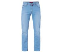 Light Stone Washed Regular Fit Jeans
