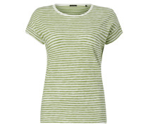 Shirt mit Allover-Muster im Inside-Out-Look