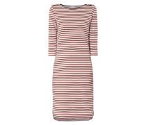 Kleid mit Effektgarn