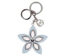 Schlüsselanhänger mit Blüten-Applikation