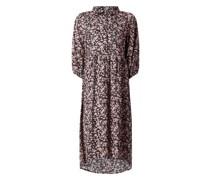 Vokuhila Kleid mit floralem Muster Modell 'Garadana'