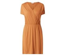 Kleid aus Lyocell und Bio-Baumwolle Modell 'Laavi'