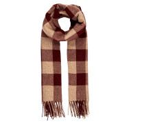 Schal aus Wollmischung