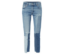 501 SKINNY - Jeans im Patch-Look