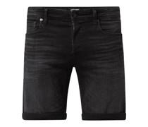 Regular Fit Jeansbermudas mit Modal-Anteil Modell 'Rick'