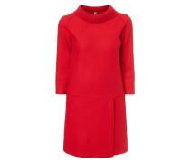 Kleid aus gewalkter Schurwolle