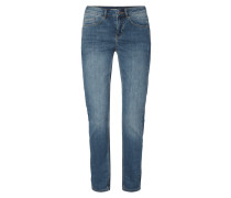 Stone Washed Boyfriend Fit 5-Pocket-Jeans