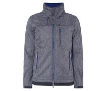 Softshell-Jacke mit Reißverschlusstaschen
