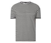 T-Shirt mit Streifenmuster Modell 'Thilo'