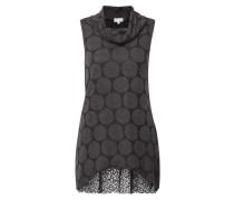 Kleid mit Punkte-Dessin