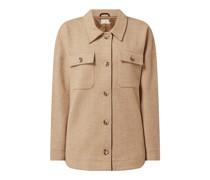 Jacke mit Fischgrat-Dessin Modell 'Kasirina'
