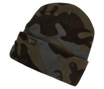 Beanie mit Camouflage-Muster