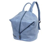 Rucksack mit Reißverschluß aus schimmerndem Material