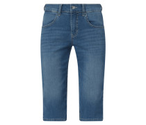 Caprihose aus Light Denim