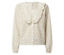 Bluse aus Bio-Baumwolle Modell 'Bareen'
