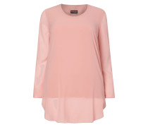 PLUS SIZE - Blusenshirt im Double-Layer-Look