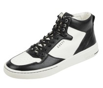 High Top Sneaker in Leder-Optik Modell 'Verona'
