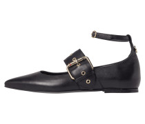 Leather Ballerina Gigi Hadid