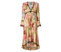 Vokuhila Kleid mit floralem Muster