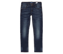 Stone Washed Comfy Fit 5-Pocket-Jeans