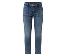 Skinny Fit Jeans mit Stretch-Anteil Modell 'Dream'