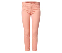 Coloured 5-Pocket-Jeans mit Stretch-Anteil