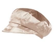 Baker Boy Hat in Metallic-Optik