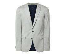 Slim Fit Sakko Flex Suit mit Hahnentritt-Dessin