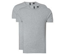 Slim Fit T-Shirt im 2er-Pack