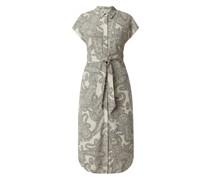 Blusenkleid mit Paisley-Muster Modell 'Adilla'