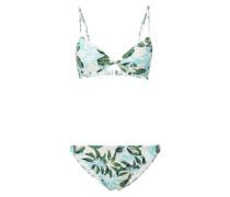 Bikini mit Allover-Muster
