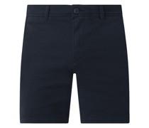 Chino-Shorts mit Stretch-Anteil Modell 'Storm'